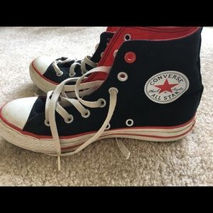 Converse Used Lace Up